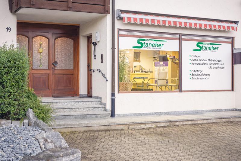 Filiale in Engstingen - Orthopaedie-Schuhtechnik Wolfgang Staneker